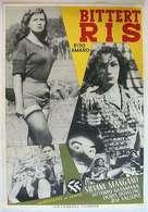 Riso amaro - Swedish Movie Poster (xs thumbnail)