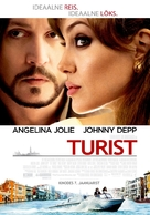 The Tourist - Estonian Movie Poster (xs thumbnail)