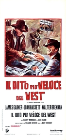 Support Your Local Sheriff! - Italian Movie Poster (xs thumbnail)