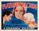 Platinum Blonde - Movie Poster (xs thumbnail)