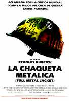 Full Metal Jacket - Spanish Movie Poster (xs thumbnail)