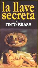 La chiave - Spanish VHS cover (xs thumbnail)