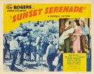 Sunset Serenade - Movie Poster (xs thumbnail)