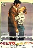 César et Rosalie - Spanish Movie Poster (xs thumbnail)