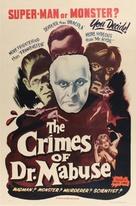 Das Testament des Dr. Mabuse - Movie Poster (xs thumbnail)