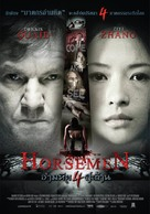 The Horsemen - Thai Movie Poster (xs thumbnail)