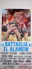 Battaglia di El Alamein, La - Italian Movie Poster (xs thumbnail)