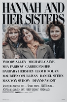 Hannah and Her Sisters - Movie Poster (xs thumbnail)