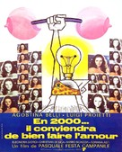 Conviene far bene l'amore - French Movie Poster (xs thumbnail)