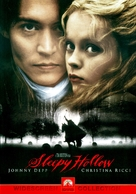 Sleepy Hollow - DVD movie cover (xs thumbnail)