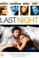 Last Night - Dutch DVD movie cover (xs thumbnail)