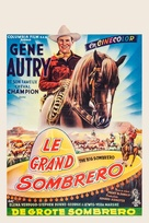 The Big Sombrero - Belgian Movie Poster (xs thumbnail)