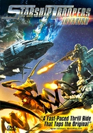 Starship Troopers: Invasion - DVD cover (xs thumbnail)