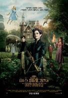 Miss Peregrine's Home for Peculiar Children - South Korean Movie Poster (xs thumbnail)