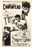 Supersabio, El - Mexican Movie Poster (xs thumbnail)