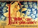 La femme que j'ai le plus aimée - French Movie Poster (xs thumbnail)