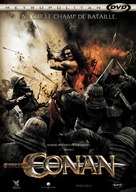 Conan the Barbarian - French DVD movie cover (xs thumbnail)