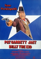 Pat Garrett & Billy the Kid - German Movie Poster (xs thumbnail)