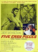 Five Easy Pieces - French Movie Poster (xs thumbnail)
