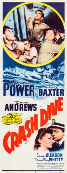 Crash Dive - Re-release movie poster (xs thumbnail)