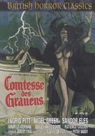 Countess Dracula - German DVD movie cover (xs thumbnail)
