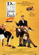The Favour, the Watch and the Very Big Fish - German Movie Poster (xs thumbnail)