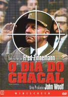 The Day of the Jackal - Brazilian Movie Cover (xs thumbnail)