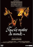 Tous les matins du monde - French Movie Poster (xs thumbnail)