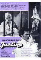 Marquis de Sade: Justine - German Movie Poster (xs thumbnail)