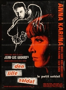 Le petit soldat - Danish Movie Poster (xs thumbnail)