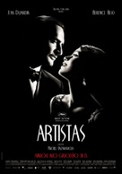 The Artist - Lithuanian Movie Poster (xs thumbnail)