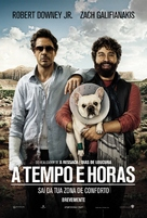 Due Date - Portuguese Movie Poster (xs thumbnail)