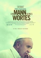 Pope Francis: A Man of His Word - German Movie Poster (xs thumbnail)
