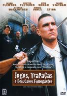Lock Stock And Two Smoking Barrels - Brazilian Movie Cover (xs thumbnail)