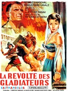La rivolta dei gladiatori - French Movie Poster (xs thumbnail)