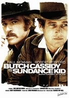 Butch Cassidy and the Sundance Kid - French Re-release movie poster (xs thumbnail)