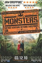 Monsters - British Movie Poster (xs thumbnail)