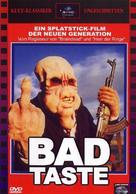 Bad Taste - German DVD movie cover (xs thumbnail)