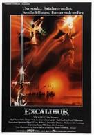 Excalibur - Spanish Movie Poster (xs thumbnail)