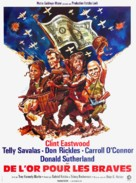 Kelly's Heroes - French Movie Poster (xs thumbnail)