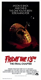 Friday the 13th: The Final Chapter - Australian Movie Poster (xs thumbnail)