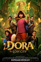 Dora and the Lost City of Gold - Swedish Movie Poster (xs thumbnail)