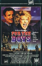 For the Boys - German Movie Cover (xs thumbnail)