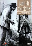 Ladri di biciclette - Italian DVD cover (xs thumbnail)