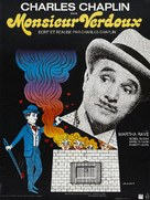 Monsieur Verdoux - French Movie Poster (xs thumbnail)