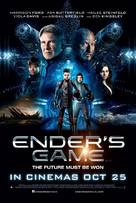 Ender's Game - British Movie Poster (xs thumbnail)