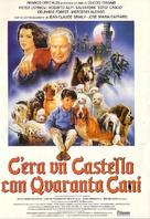 C'era un castello con 40 cani - Italian Movie Poster (xs thumbnail)