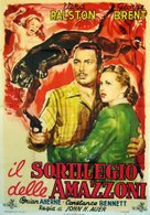 Angel on the Amazon - Italian Movie Poster (xs thumbnail)