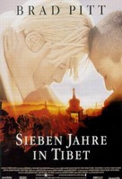 Seven Years In Tibet - German Movie Poster (xs thumbnail)