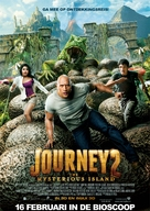 Journey 2: The Mysterious Island - Dutch Movie Poster (xs thumbnail)